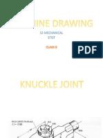 Machine Drawing S3 MECH [Class 8]