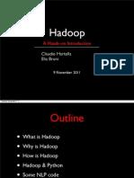 What is Hadoop - Cimec-120208170829-Phpapp01