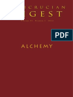 Rosicrucian Digest Alchemy 2013