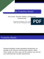 a4 Discrete Probability Models