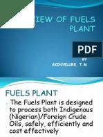 Fuels Plant
