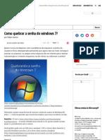 Removendo a senha do windows 7 Com hiren's boot CD _ Blog Hardware