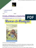 O Leão, a Feiticeira e o Guarda-Roupa _ Portal da Teologia.pdf