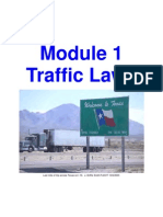 01 Module 1 - Traffic Laws 1 1