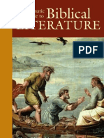 Thematic Guide to Biblical Literature