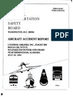NTSB Accident Report - Flight 508