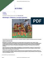 Metodologia _ Entrenadores de Futbol