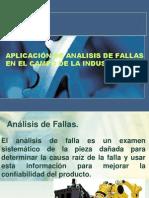 APLICACIÓN DE ANALISIS DE FALLAS EN EL CAMPO