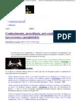 Conhecimento, presciência, pré-conhecimento – p______s__ (proginóskó) _ Portal da Teologia.pdf