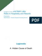 Legionella and Meth Labs