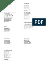 Poezii in Lb. Engleza