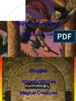 Harry Potter World Analysis