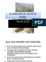 La Oracion de Jacob en Peniel