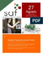 Folleto Curso Gestión Financiera en las Pymes