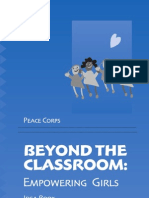 Peace Corps Beyond The Classroom Empowering Girls | Idea Book    M0080.pdf