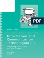 Peace Corps INFORMATION ANDCOMMUNICATIONTECHNOLOGIES (ICT)