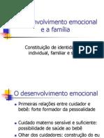 O+Desenvolvimento+Emocional+e+a+Familia