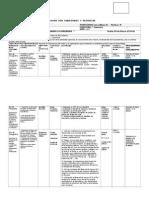 Planificacion U0 4º  Ciencias Sociales