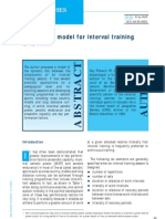 A Graphical Model 4 Interval Training