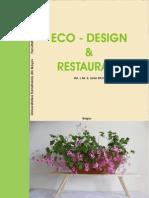 Eco-Design Si Restaurare Nr 2