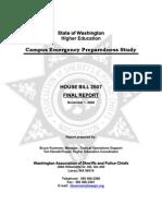 Campus Emergency Preparedness Study-HB 2507