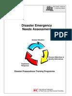 2000 Disaster Emergency Needs Assessment Disaster Preparedness Training Programme IFRC