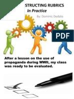 Dedato - Co-Constructing Rubrics Presentation
