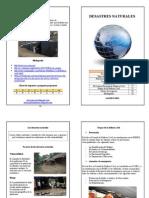 Desastres Naturales Mayo 2013