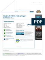 2011 BMW_AutoCheck Vehicle History Report