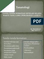 Referat Tanatologi Pembusukkan Adiposer Mummifikasi Nisa