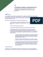 Salvacion & China Banking Corp Cases