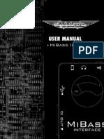 Mi Bass Interfaz User Manual
