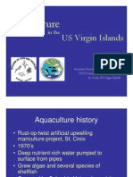 Aquaculture in the US Virgin Islands