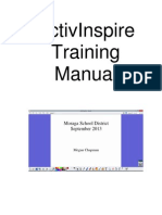 activinspire training manual  chapman