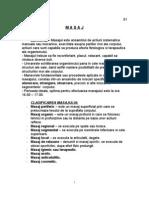 Masaj Si Reflexogia- Curs in Detaliu