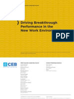 CLC Driving Breakthrough Performance in the New Work Environment