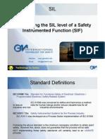 Determing SIL Level
