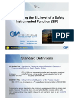 Determing SIL Level
