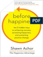 Before Happiness by Shawn Achor-excerpt