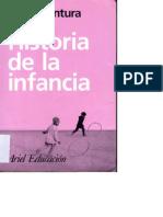 Historia de La Infancia - Delgado Buenaventura