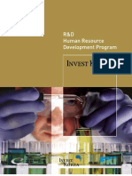 R&D Human Resource Development Program in Korea