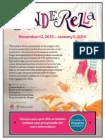 Cinderella Group Promotion Sheet
