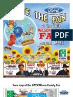 Wilson County Fair Tab 2013