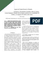 Longina, Chiu - Tecnologías de Control Social. El Sonido