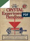 Radio Crystal Experimenters Handbook