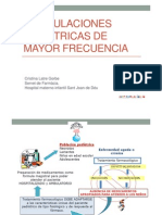 6 Formulaciones Pediatricas Mayor Frecuencia