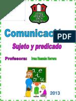 Separata de Comunicacion - Sujeto y Predicado