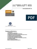 Fondo Sectorial SAGARPA 2011 Terminos_de_Referencia_2011-16