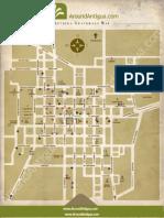 Antigua Guatemala Mapa