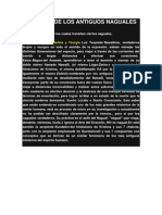 SABIDURÍA DE LOS ANTIGUOS NAGUALES TOLTECAS 2